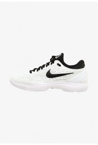 Black Friday 2020 | Nike AIR ZOOM CAGE 3 HC - Chaussures de tennis sur terre battue white/black liquidation