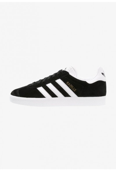 Black Friday 2020 | Adidas GAZELLE - Baskets basses core black/white/gold metallic pas cher