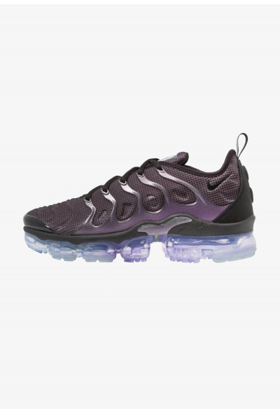 Nike AIR VAPORMAX PLUS - Baskets basses black/dark grey/aluminum/space purple liquidation