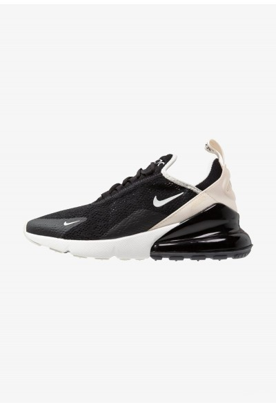 Black Friday 2020 | Nike AIR MAX 270 - Baskets basses black/light bone/platinum tint/light cream liquidation