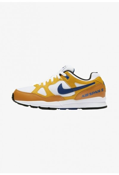Nike AIR SPAN II - Baskets basses ochre/dark blue liquidation