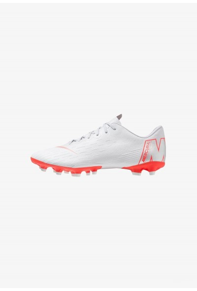 Nike VAPOR 12 PRO AGPRO - Chaussures de foot à crampons wolf grey/light crimson/pure platinum/metallic silver liquidation