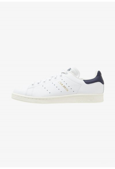 Adidas STAN SMITH - Baskets basses white/dark blue pas cher