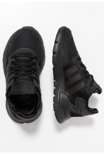 Adidas NITE JOGGER - Baskets basses core black/carbon/grey five pas cher