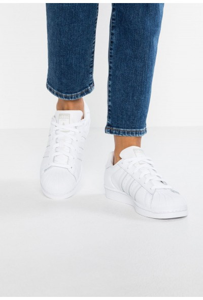 Adidas SUPERSTAR - Baskets basses footwear white/grey one pas cher