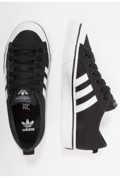 Adidas NIZZA  - Baskets basses core black/footwear white pas cher