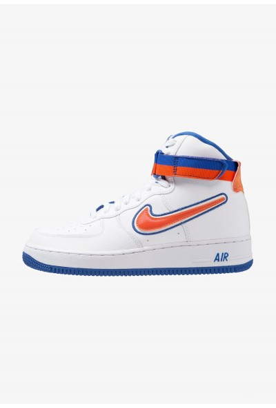 Nike AIR FORCE 1 '07 LV8 SPORT - Baskets montantes white/team orange/game royal liquidation