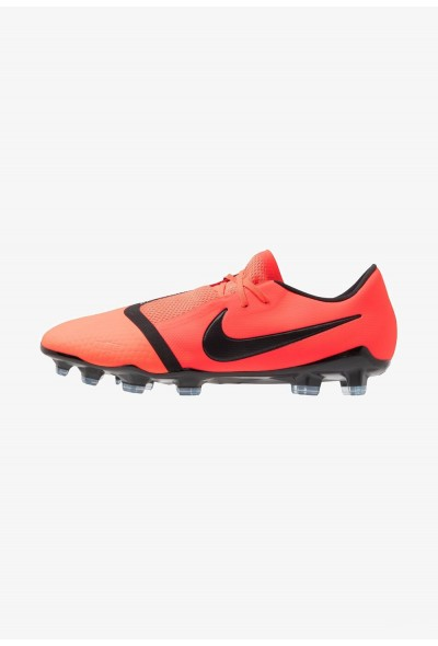 Nike PHANTOM PRO FG - Chaussures de foot à crampons bright crimson/black/metallic silver liquidation