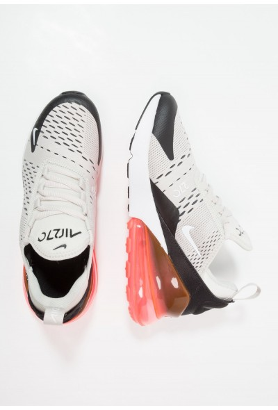 Nike AIR MAX 270 - Baskets basses light bone/white/black/hot punch liquidation