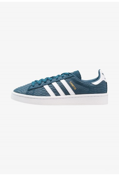 Adidas CAMPUS - Baskets basses  petrol night/footwear white/gold metallic pas cher