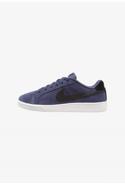 Nike COURT ROYALE SUEDE - Baskets basses neutral indigo/black/tour yellow/white liquidation