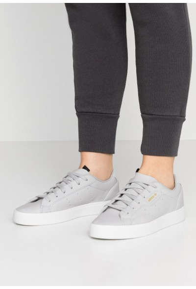 Adidas SLEEK  - Baskets basses grey two/crystal white pas cher