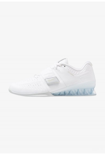Black Friday 2020 | Nike ROMALEOS 3.5 - Chaussures d'entraînement et de fitness white/metallic platinum liquidation