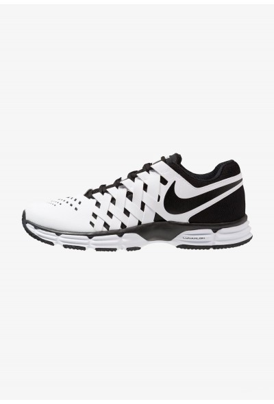 Black Friday 2019 | Nike LUNAR FINGERTRAP TR - Chaussures d'entraînement et de fitness white/black liquidation