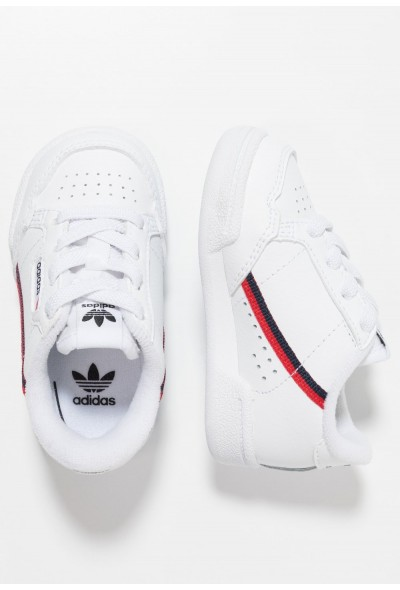 Adidas CONTINENTAL 80 - Chaussures premiers pas footwear white/scarlet/collegiate navy pas cher