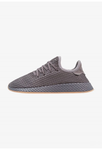 Adidas DEERUPT RUNNER - Baskets basses grey three/grey four/footwear white pas cher