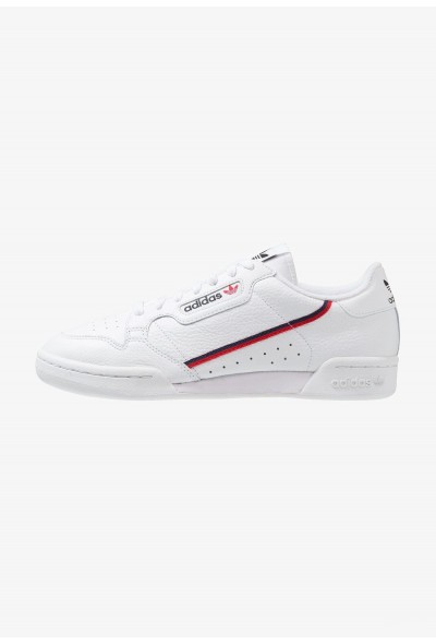 Adidas CONTINENTAL 80 - Baskets basses footwear white/scarlet/collegiate navy pas cher