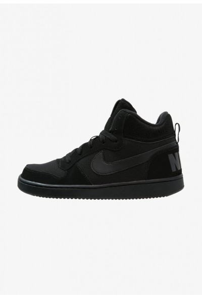 Black Friday 2020 | Nike COURT BOROUGH MID - Baskets montantes black liquidation