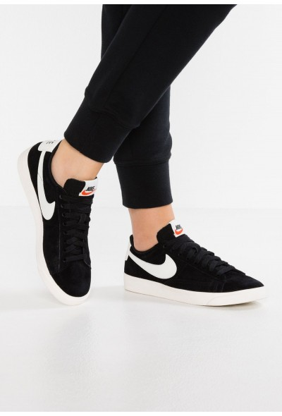 Black Friday 2020 | Nike BLAZER LOW SD - Baskets basses black/sail liquidation
