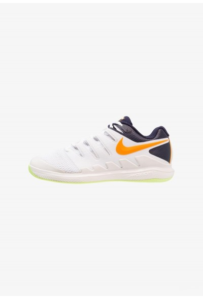 Nike AIR ZOOM VAPOR X CPT - Chaussures de tennis en salle phantom/orange peel/blackened blue/white/volt glow liquidation