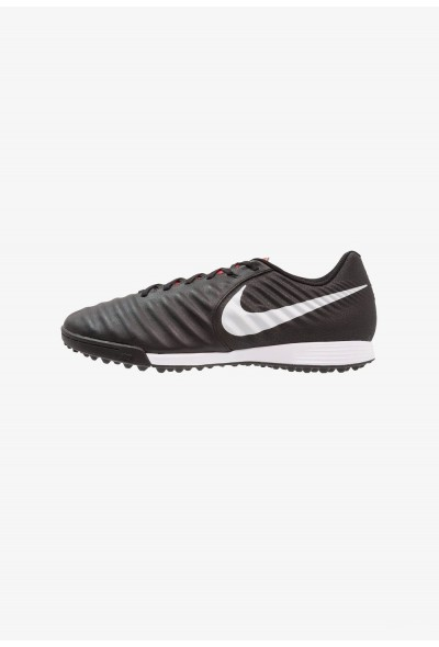 Nike LEGENDX 7 ACADEMY TF - Chaussures de foot multicrampons black/pure platinum/light crimson liquidation