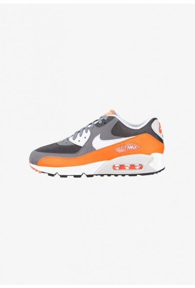 Nike AIR MAX 90 ESSENTIAL - Baskets basses cool grey/pure platinum/total orange/anthracite liquidation