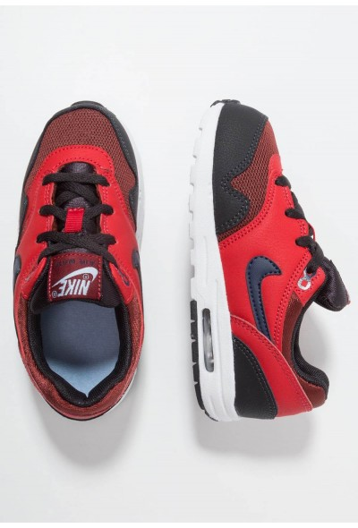 Nike AIR MAX 1 - Baskets basses rough red/midnight navy/university red/oil grey liquidation