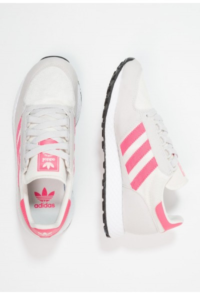 Adidas FOREST GROVE  - Baskets basses chalk white/real pink pas cher