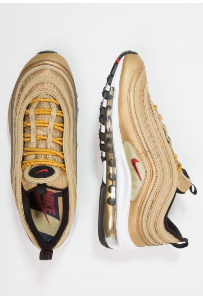 Black Friday 2020 | Nike AIR MAX 97 QS (GS) - Baskets basses metallic gold/varsity red/black/white liquidation