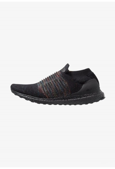 Adidas ULTRABOOST LACELESS - Chaussures de running neutres core black/shock cyan/shock yellow pas cher
