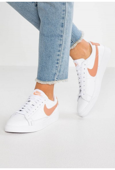 Nike BLAZER - Baskets basses white/rose gold liquidation