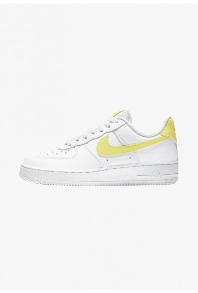 Nike AIR FORCE 1 '07 - Baskets basses white/white/yellow pulse liquidation