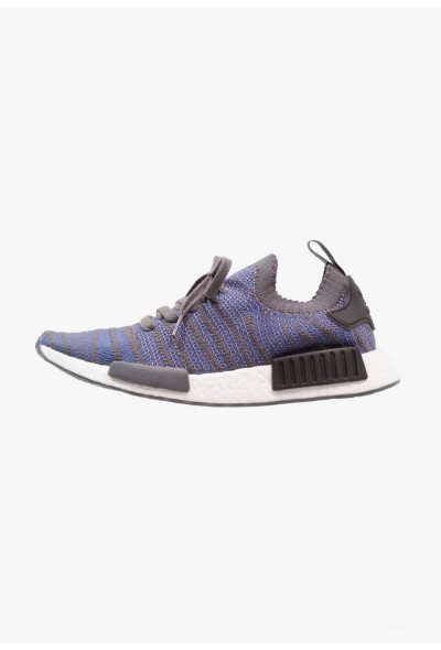 Adidas NMD_R1 - Baskets basses - hi hi-res blue/core black/chalk coral pas cher