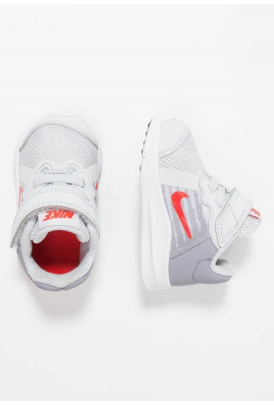 Cadeaux De Noël 2019 Nike DOWNSHIFTER  - Chaussures de running neutres - pure platinum/habanero red/stealth pure platinum/habanero red/stealth-black liquidation
