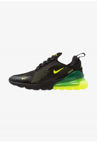 Nike AIR MAX 270 - Baskets basses black/volt/oil grey liquidation