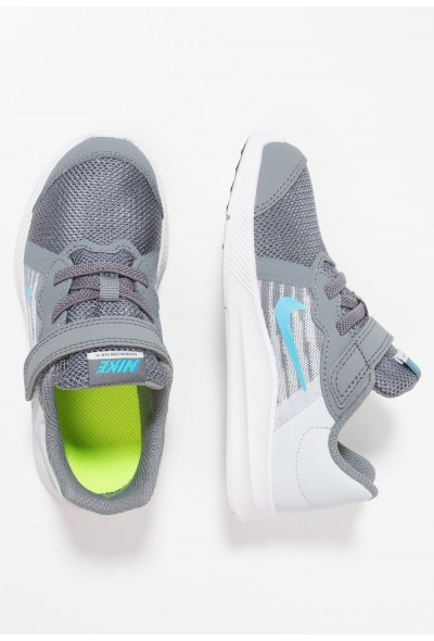 Nike DOWNSHIFTER  - Chaussures de running neutres cool grey/blue fury/pure platinum/white liquidation