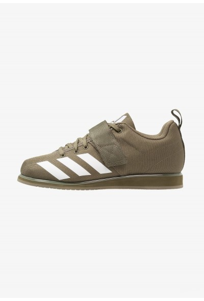 Black Friday 2020 | Adidas POWERLIFT 4 - Chaussures d'entraînement et de fitness raw khaki/footwear white pas cher