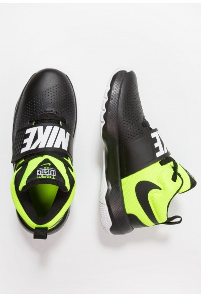 Black Friday 2019 | Nike TEAM HUSTLE D 8 - Chaussures de basket black/volt/white liquidation