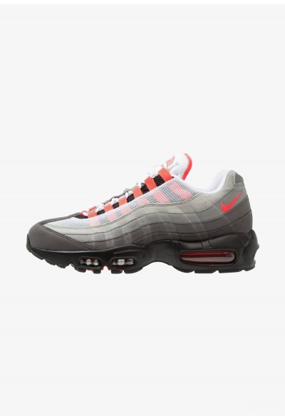 Nike AIR MAX 95 OG - Baskets basses white/solar red/granite/dust/dark pewter liquidation