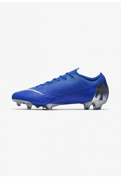 Nike MERCURIAL VAPOR 12 ELITE FG - Chaussures de foot à crampons blue/black liquidation