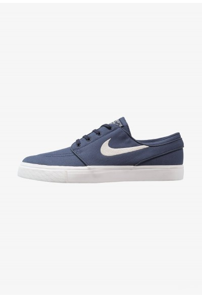 Nike ZOOM STEFAN JANOSKI - Baskets basses thunder blue/light bone/summit white/lemon wash liquidation