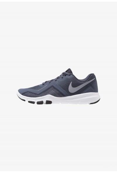 Nike FLEX CONTROL II - Chaussures d'entraînement et de fitness thunder blue/light carbon/black/atmosphere grey/white liquidation
