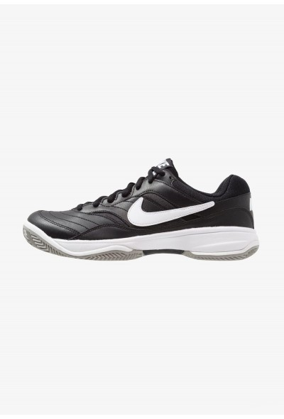 Black Friday 2020 | Nike COURT LITE CLAY - Chaussures de tennis sur terre battue black/white/medium grey liquidation