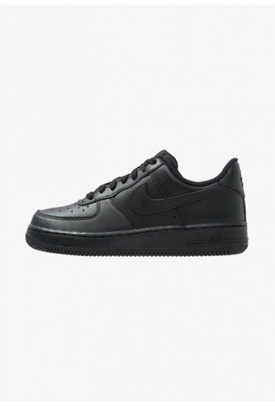Nike AIR FORCE 1 '07 - Baskets basses black liquidation