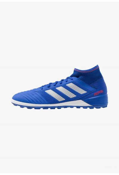 Black Friday 2020 | Adidas PREDATOR 19.3 TF - Chaussures de foot multicrampons bold blue/silver metallic/active red pas cher