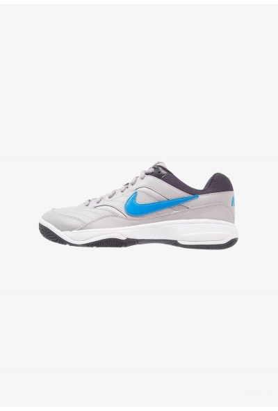 Nike COURT LITE - Baskets tout terrain atmosphere grey/photo blue/platinum tint/gridiron liquidation