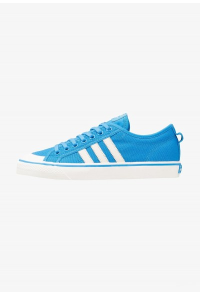 Adidas NIZZA - Baskets basses bright blue/footwear white pas cher