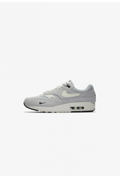 Nike AIR MAX 1 PREMIUM HERRENSCHUH - Baskets basses silver/black/white liquidation