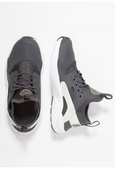 Nike HUARACHE RUN ULTRA - Baskets basses anthracite/metallic pewter/spruce aura/black liquidation