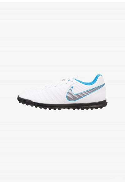 Black Friday 2020 | Nike TIEMPO LEGENDX 7 CLUB TF - Chaussures de foot multicrampons white/chrome/blue hero liquidation